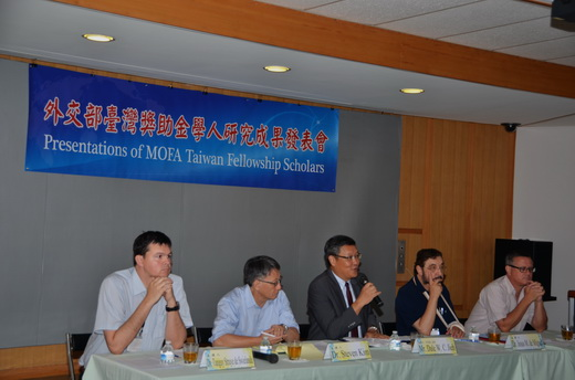 2016 2nd Presentations of MOFA Taiwan Fellowship Scholars
