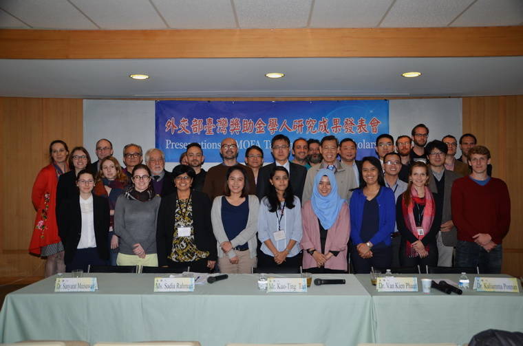 2017 1st Presentations of MOFA Taiwan Fellowship Scholars