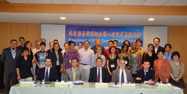The second season of Presentation of Taiwan Fellowship Scholars on July 1,2014