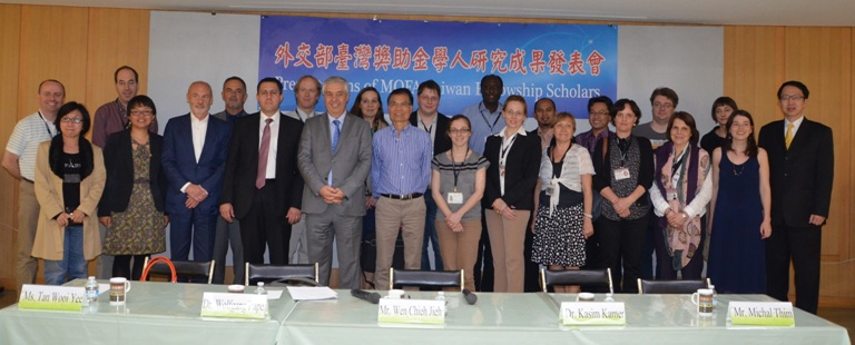 2014.3.26 Presentations of MOFA Taiwan Fellowship Scholars