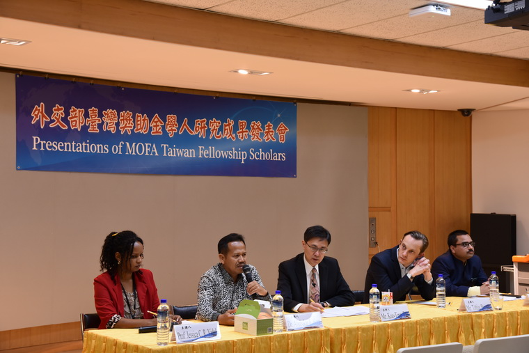 2018 1st Presentations of MOFA Taiwan Fellowship Scholars
